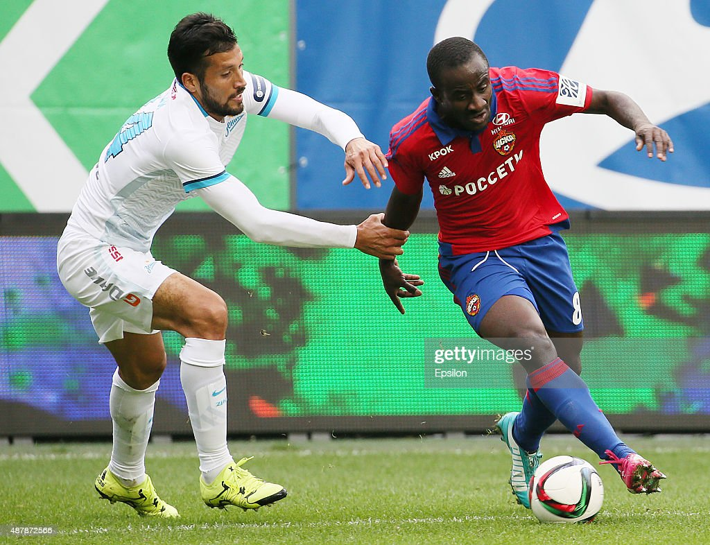 CSKA Moscow v Zenit St Petersburg Russian Premier League s