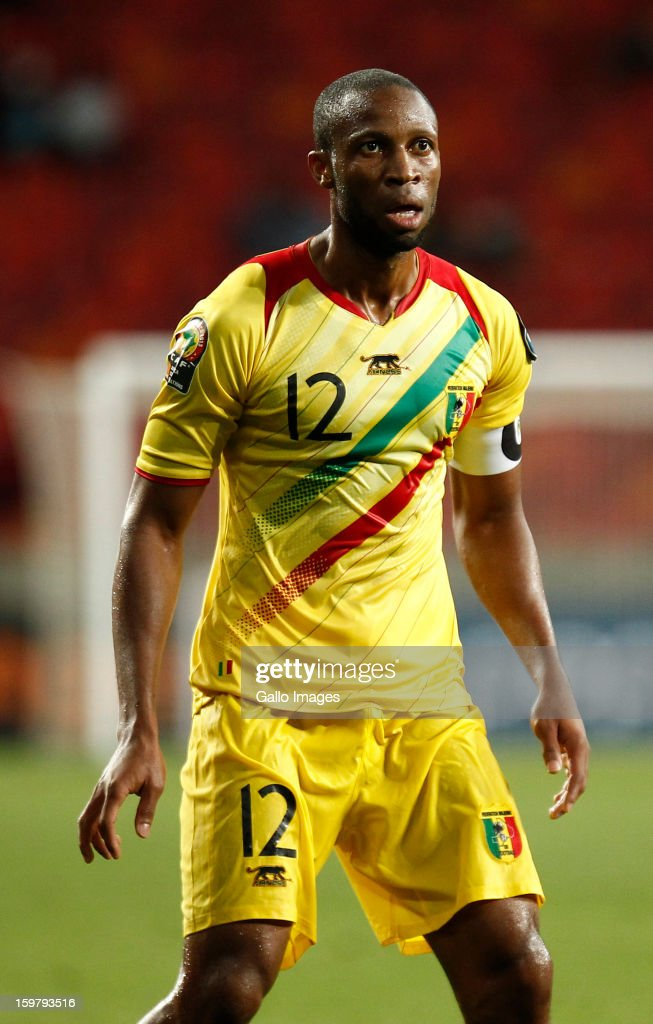 <a gi-track='captionPersonalityLinkClicked' href=/galleries/search?phrase=Seydou+Keita&family=editorial&specificpeople=709847 ng-click='$event.stopPropagation()'>Seydou Keita</a> of Mali in action during the 2013 African Cup of Nations match between Mali and Niger at Nelson Mandela Bay Stadium on January 20, 2013 in Port Elizabeth, South Africa.