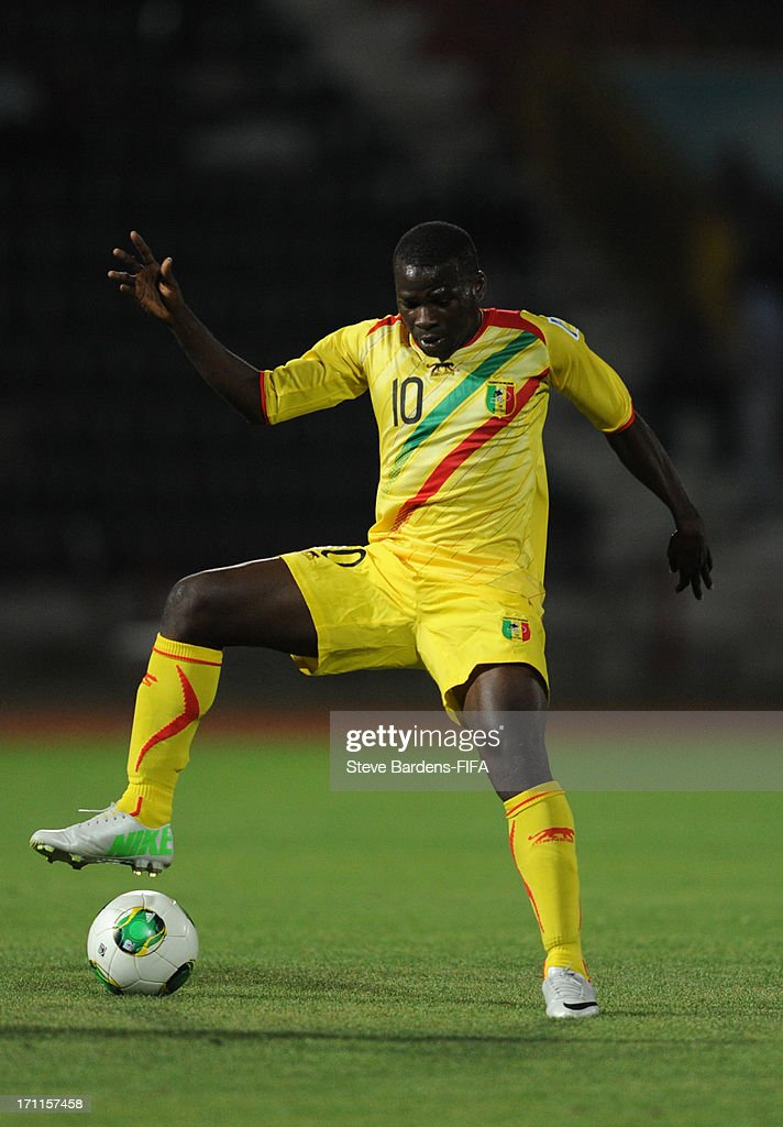 Seydou Traore of Mali in action during the FIFA U20 World Cup Group D match between Paraguay and Mali at Kamil Ocak Stadium on June 22, 2013 in Gaziantep, Turkey.