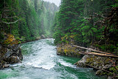 Seymour River in British Columbia