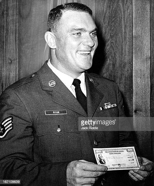 DEC 1965 DEC 25 1965 S Sgt Andrew Ryan Jr For being selected é¦Airman of the Yearé¦ at Lowry Air Force Base Ryan who is as¼signed to the 3415th Civil...