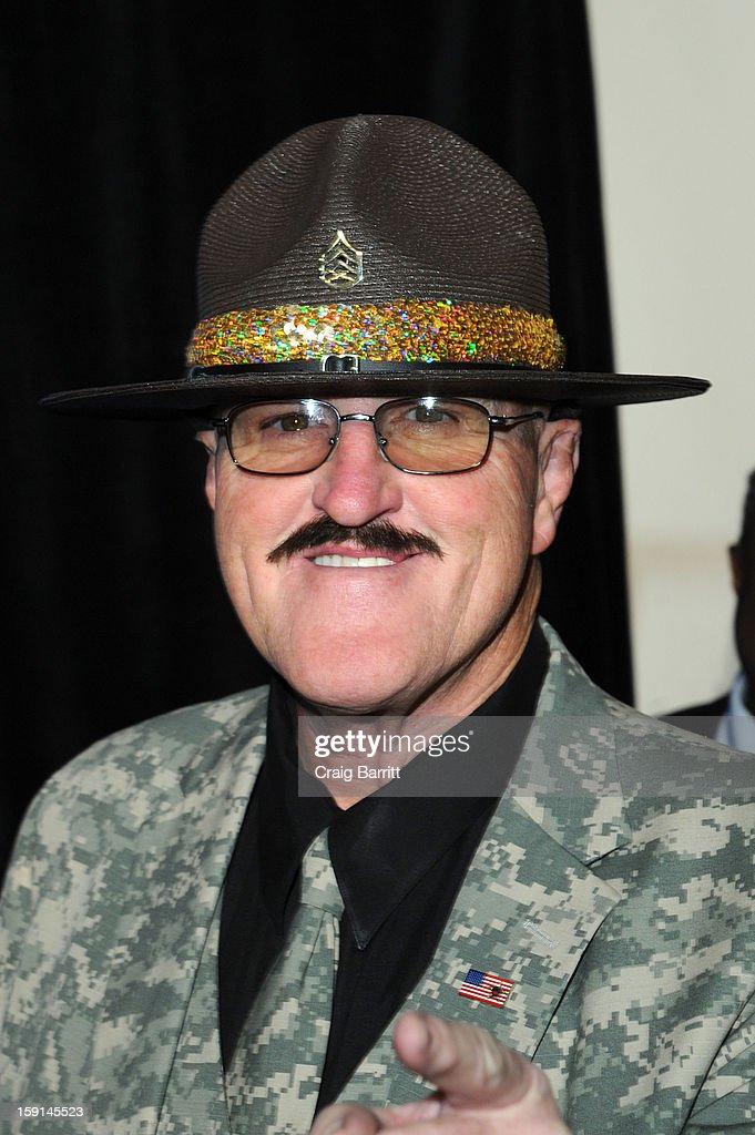 Sgt. Salughter attends the 16th Annual MDA Muscle Team Gala and Benefit Auction at Pier 60 on January 8, 2013 in New York City.