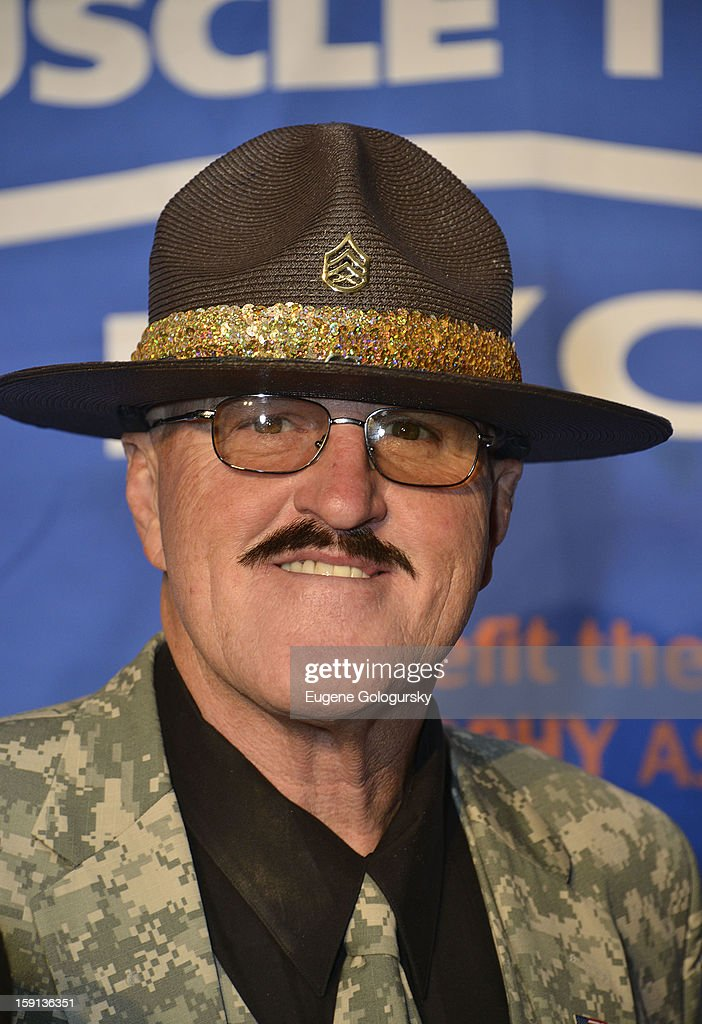 Sgt. Salughter attends the 16th annual Muscular Dystrophy Association Muscle Team Gala and Benefit Auction at Pier 60 on January 8, 2013 in New York City.