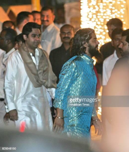 Shaad Ali at the wedding of Aishwarya and Abhishek Bachchan