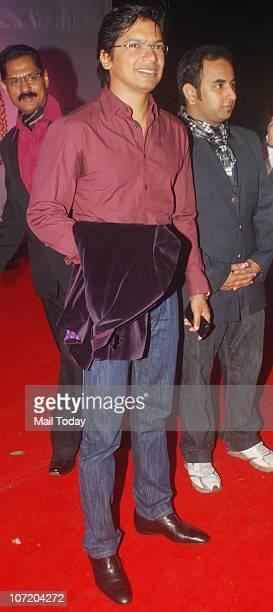 Shaan during politician Narayan Rane's son's wedding in Mumbai on November 28 2010