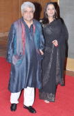 Shabana Azmi and Javed Akhtar at Big Pictures' success bash held in Mumbai on February 28 2010