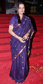 Shabana Azmi at the premier of Dev Anand's rerelease of classical hindi film 'Hum Dono' in colour version in Mumbai on February 3 2011