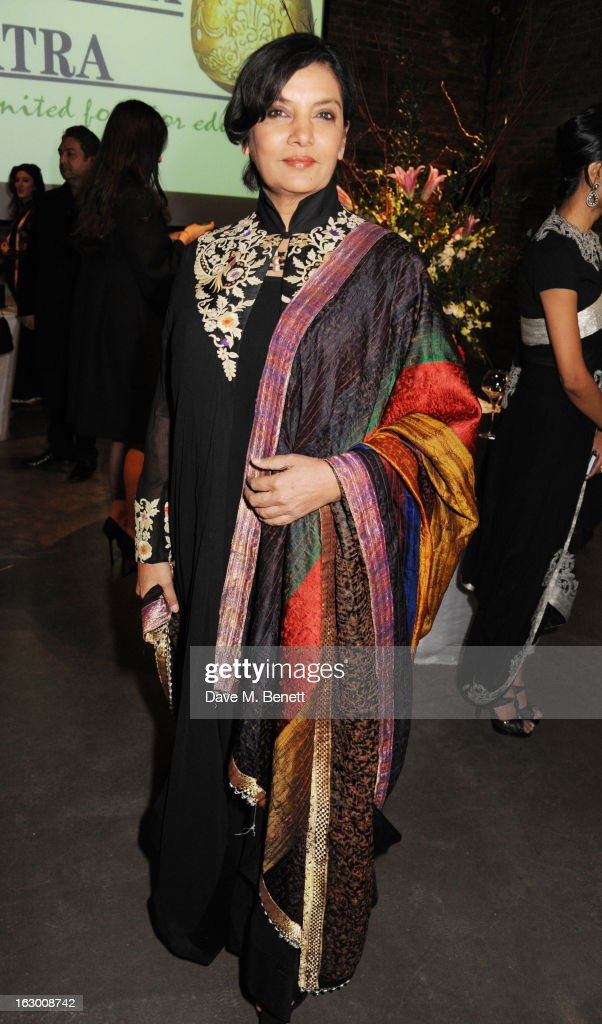 Shabana Azmi attends a Fashion Gala fundraiser hosted by the Akshaya Patra Foundation for underpriveleged children in India, at Vinopolis, on March 2, 2013 in London, England.
