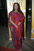 Shabana Azmi attends the 2011 Light of India awards at The WaldorfAstoria on April 22 2011 in New York City
