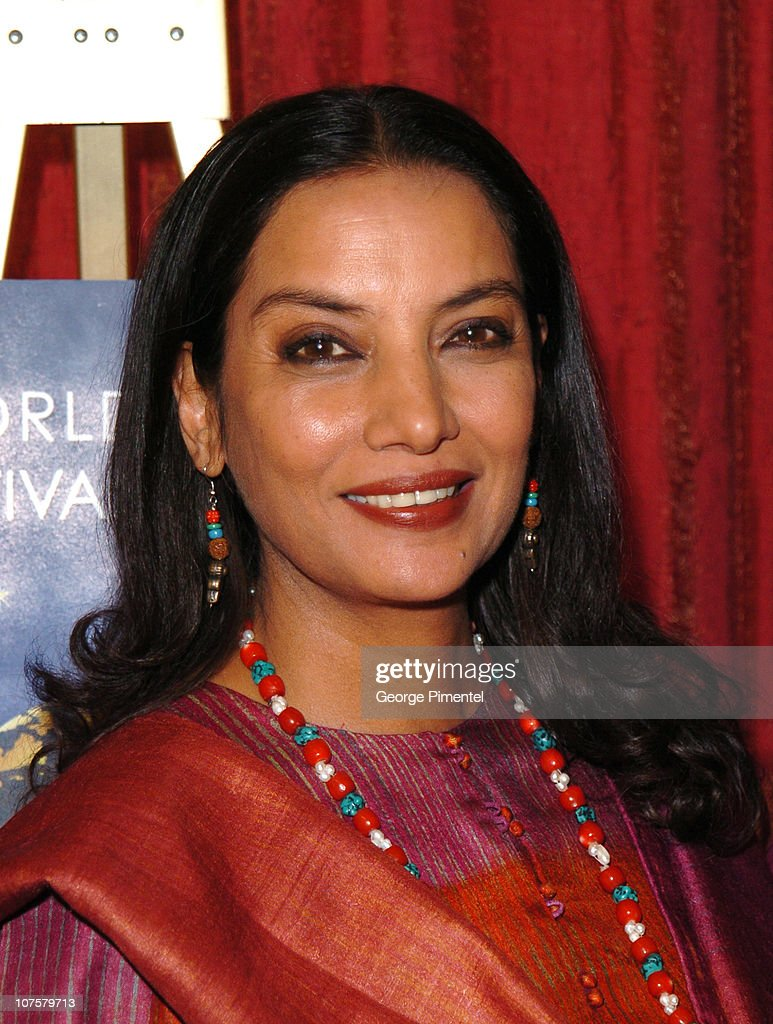 <a gi-track='captionPersonalityLinkClicked' href=/galleries/search?phrase=Shabana+Azmi&family=editorial&specificpeople=565786 ng-click='$event.stopPropagation()'>Shabana Azmi</a> during ReelWorld Film Festival Honors <a gi-track='captionPersonalityLinkClicked' href=/galleries/search?phrase=Shabana+Azmi&family=editorial&specificpeople=565786 ng-click='$event.stopPropagation()'>Shabana Azmi</a> at Lesandro in Hazelton Lanes in Toronto, Ontario.