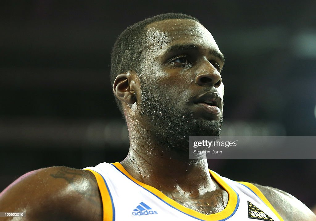 Shabazz Muhammad #15 of the UCLA Bruins plays against the Cal Poly Mustangs at Pauley Pavilion on November 25, 2012 in Los Angeles, California.