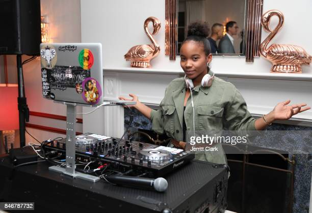 Shacia Payne DJs MERRY JANE kick off of Loud Clear campaign with DJ Snoopadelic at Los Angeles dinner event held at the private residence of Jonas...