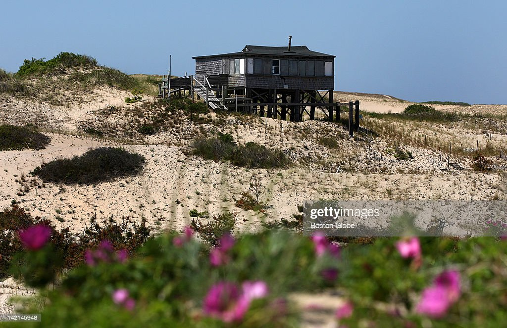 Dune Shacks Cape Cod Part - 36: A Shack On The Outer Dunes At The Cape Cod National Seashore By  Provincetown And Truro