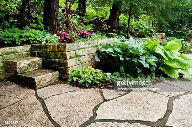 ウィスコンシン州色合いの庭園