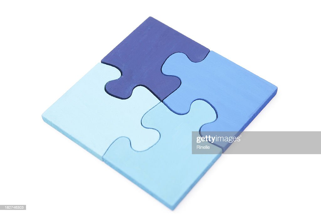 Shades of Blue Puzzle