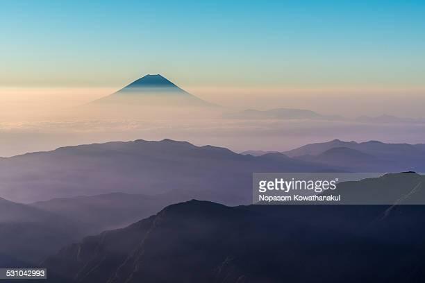 Shades of Fuji-san