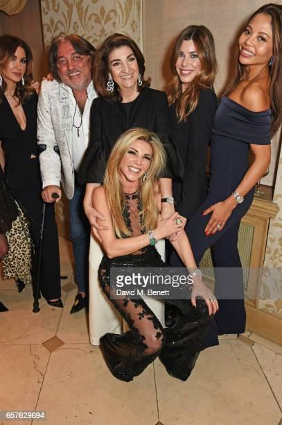 Shadi Ritchie Robert Tchenguiz Fatima Maleki Lisa Tchenguiz Jade Heathcliff and Emma McQuiston Viscountess Weymouth attend Lisa Tchenguiz's party...