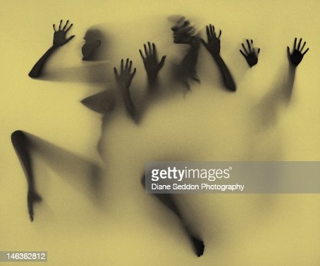 Shadow art using light box : Stock Photo