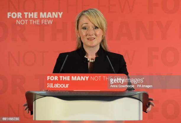 Shadow Business Secretary Rebecca LongBailey gives a speech on Labour's industrial strategy at York Science Park while on the general election...