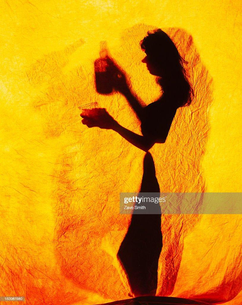 Shadow Dancing : Stock Photo