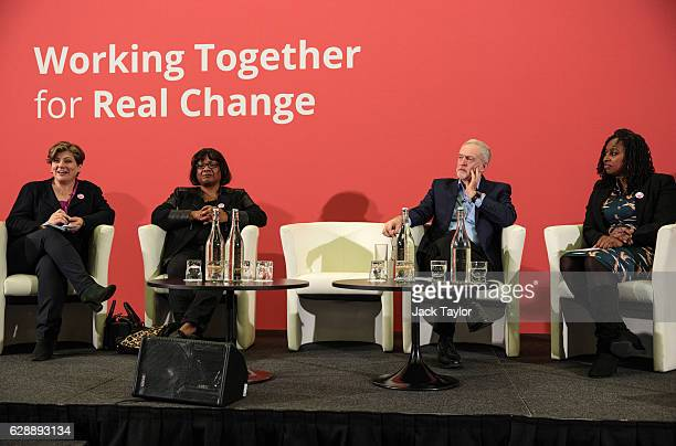 Shadow Foreign Secretary Emily Thornberry Shadow Home Secretary Diane Abbott Labour Leader Jeremy Corbyn and Shadow Minister for Diverse Communities...