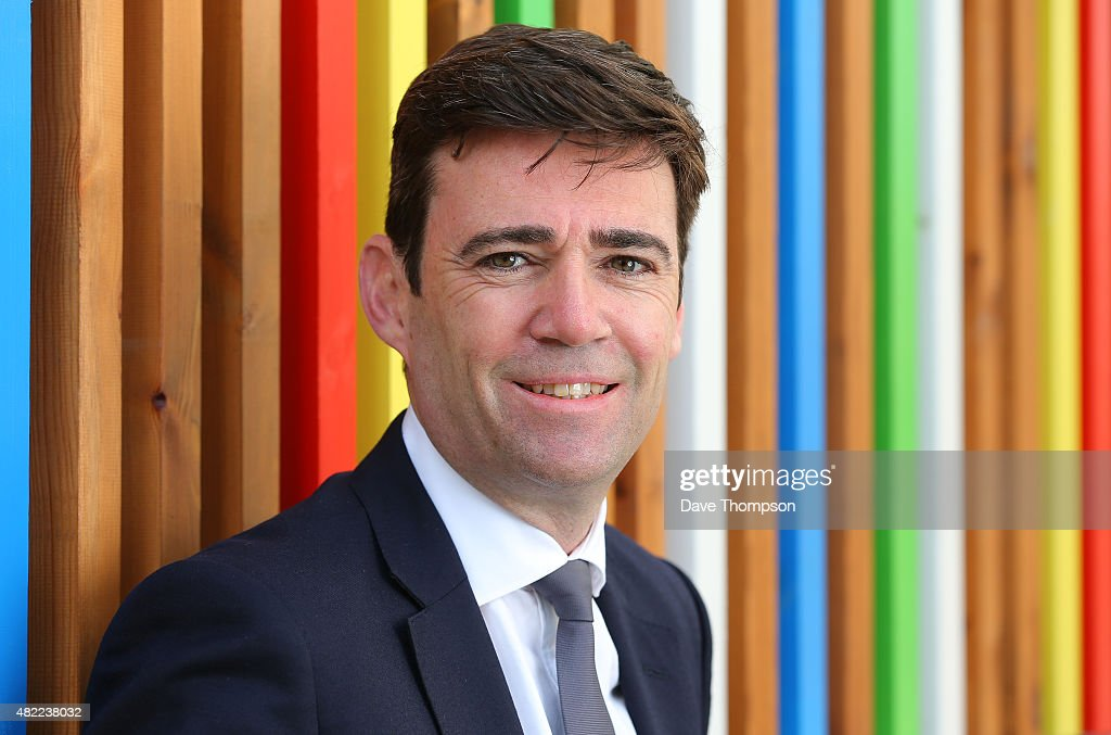Shadow Health Secretary <a gi-track='captionPersonalityLinkClicked' href=/galleries/search?phrase=Andy+Burnham&family=editorial&specificpeople=469823 ng-click='$event.stopPropagation()'>Andy Burnham</a> poses for a photograph prior to delivering a State Of The Leadership Race speech at the Royal Armouries Museum on July 28, 2015 in Leeds, England. Burnham is one of four candidates battling to become the new leader of the Labour Party.