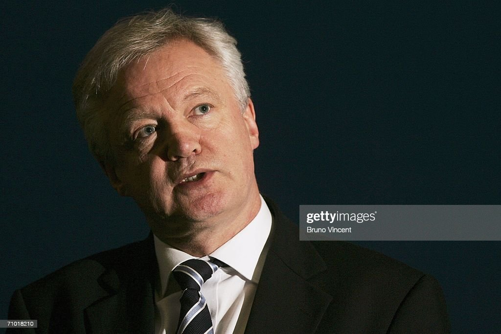 Shadow Home Secretary David Davis speaks at the Association of Chief Police Officers Association of Police Authorities conference on May 23 2006 in...