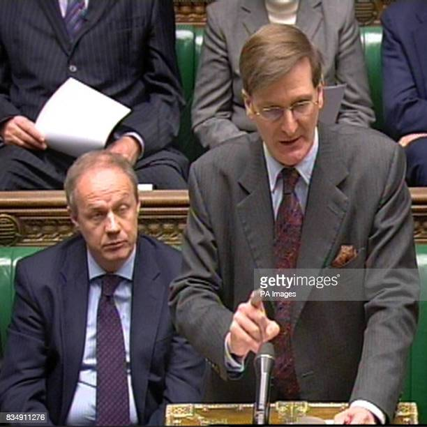 Shadow Home Secretary Dominic Grieve responds to a statement by Home Secretary Jacqui Smith in the House of Commons regarding the police raid on Tory...
