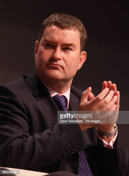 Shadow Minister for the Treasury David Gauke during the Conservative Party Conference in Manchester