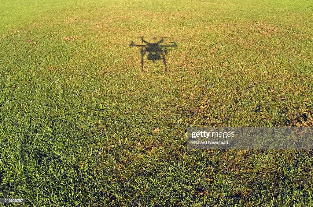Shadow of a Drone