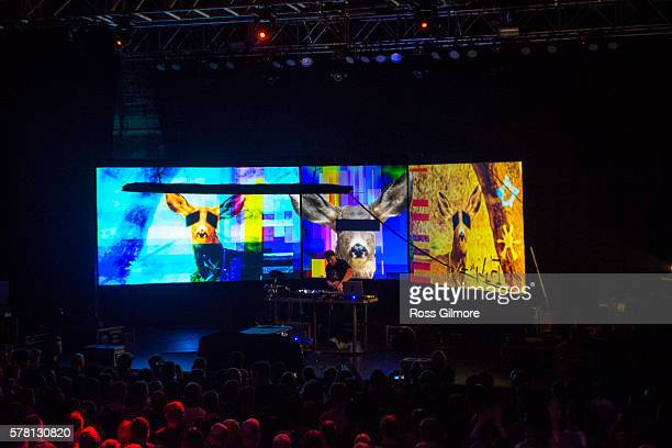 Shadow performs at O2 ABC Glasgow on July 20 2016 in Glasgow Scotland
