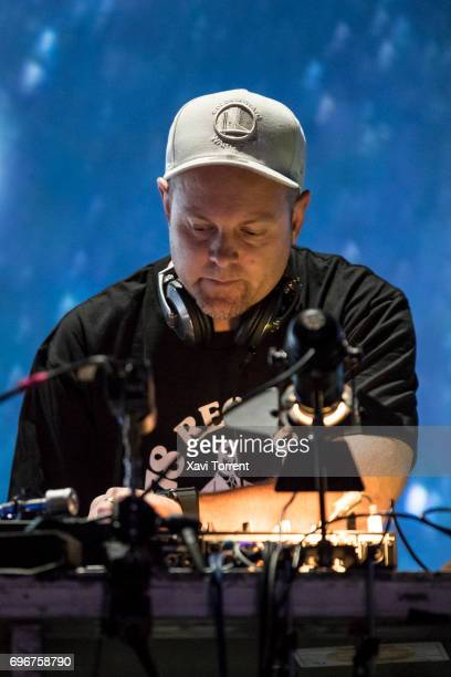 Shadow performs on stage during day 3 of Sonar 2017 on June 16 2017 in Barcelona Spain