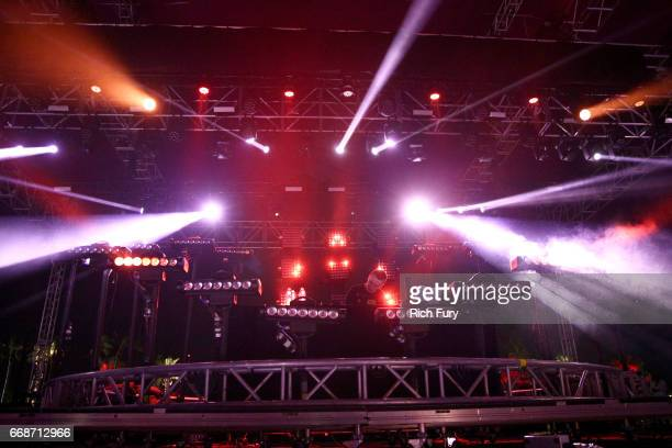 Shadow performs on the Mojave stage during day 1 of the 2017 Coachella Valley Music Arts Festival Weekend 1 at the Empire Polo Club on April 14 2017...