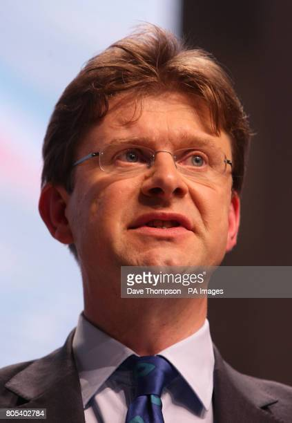 Shadow Secretary of State for Energy and Climate Change Greg Clark during the Conservative Party Conference in Manchester