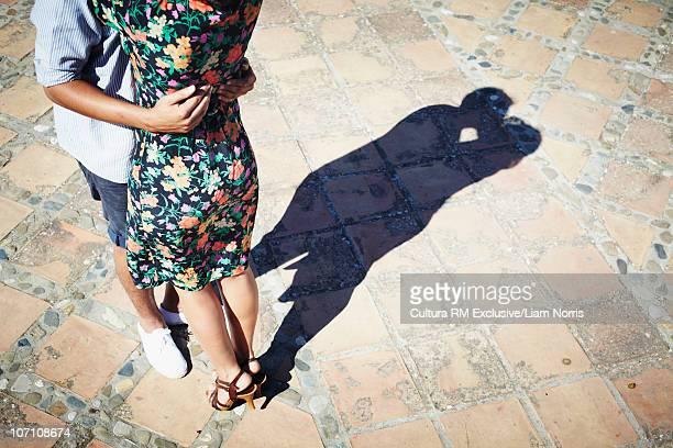 Shadows kissing