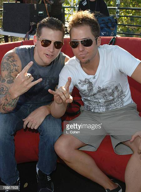 M Shadows of Avenged Sevenfold and Stryker of KROQ