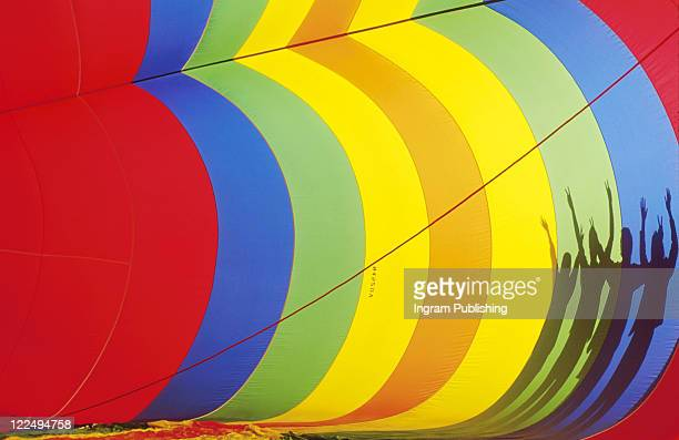 Shadows on Hot Air Balloon