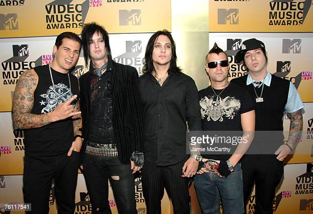M Shadows The Rev Synyster Gates Johnny Christ and Zacky Vengeance of Avenged Sevenfold