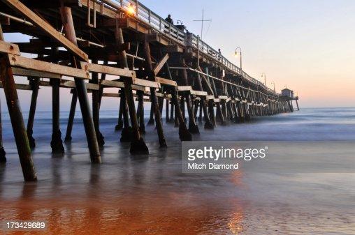 Shadows under the pier