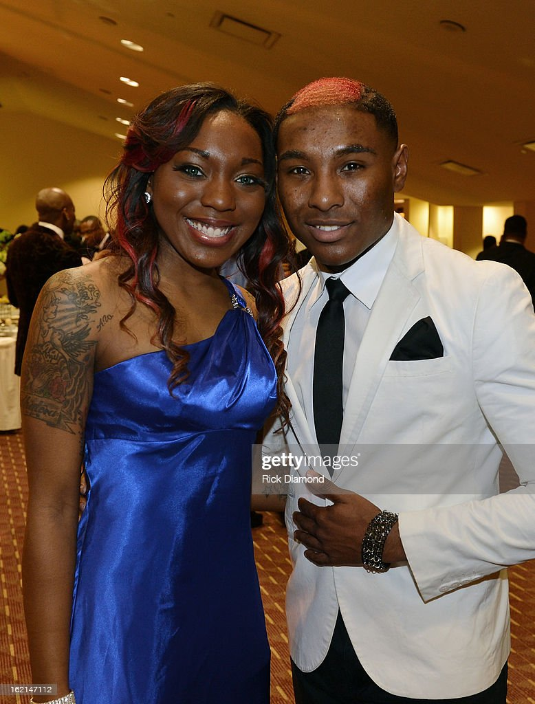 Shaera Fortner and Greg Fprtner attend the VIP Pre Party at the Bronner Bros. ICON Awards Presented By Clairol - Show on February 18, 2013 in Atlanta, Georgia. United States.