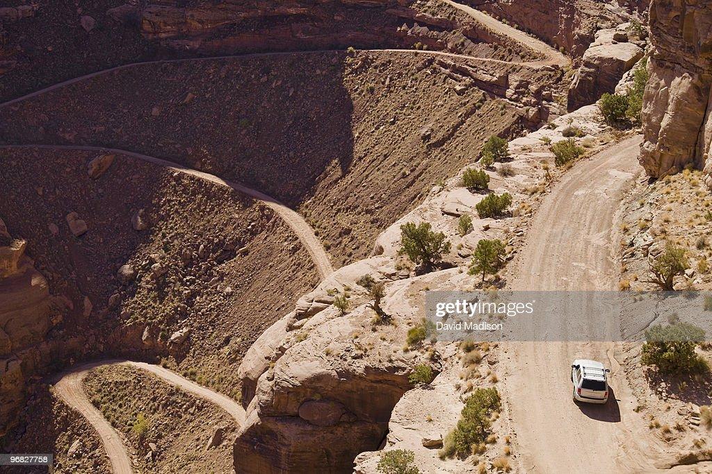 Shafer Trail, Canyonlands National Park, Utah. : Stock Photo