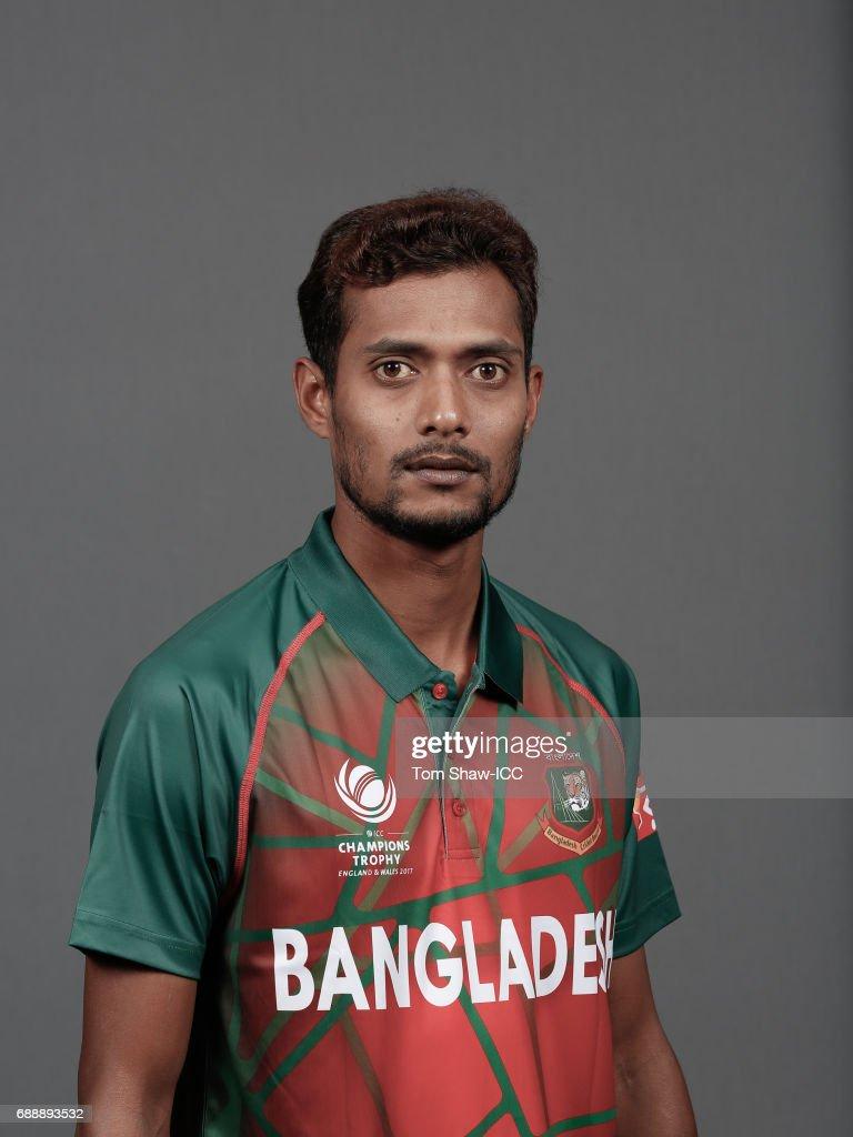 ICC Champions Trophy - Bangladesh Portrait Session