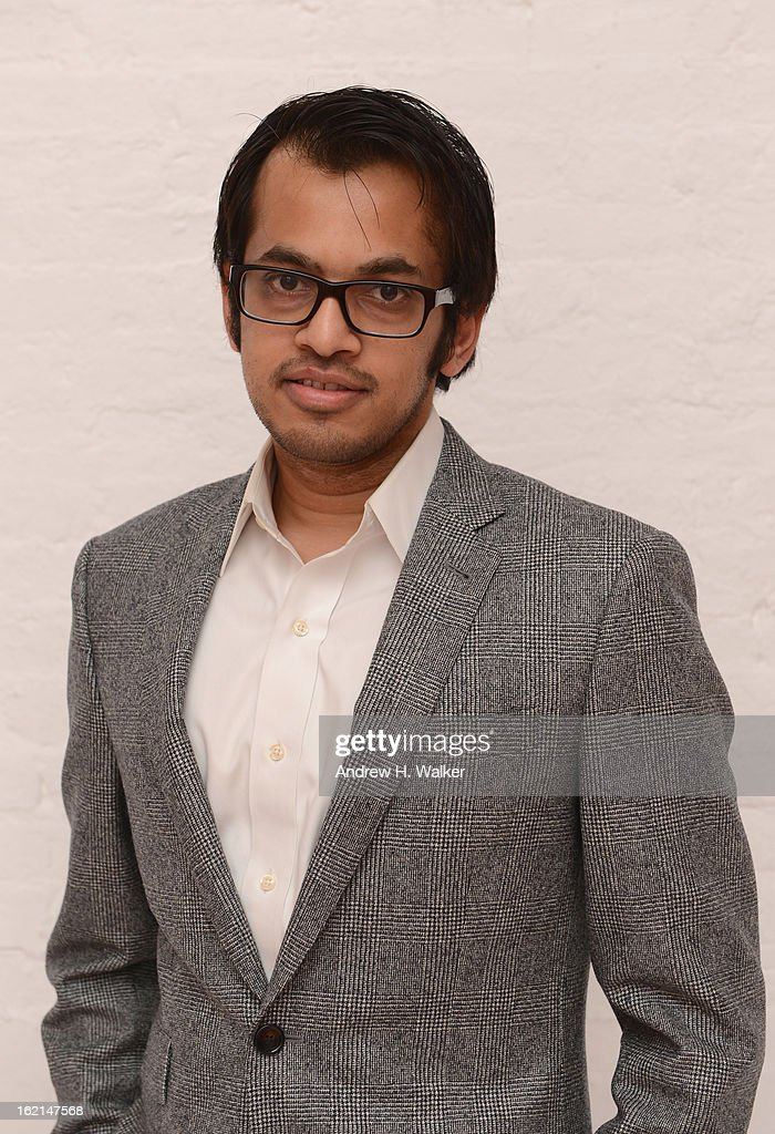Shafqat Islam, Cofounder and CEO at NewsCred, attends 'Visual Conversation: Being @ The Center of Social' hosted by Getty Images during Social Media Week 2013 at Openhouse Gallery on February 19, 2013 in New York City.