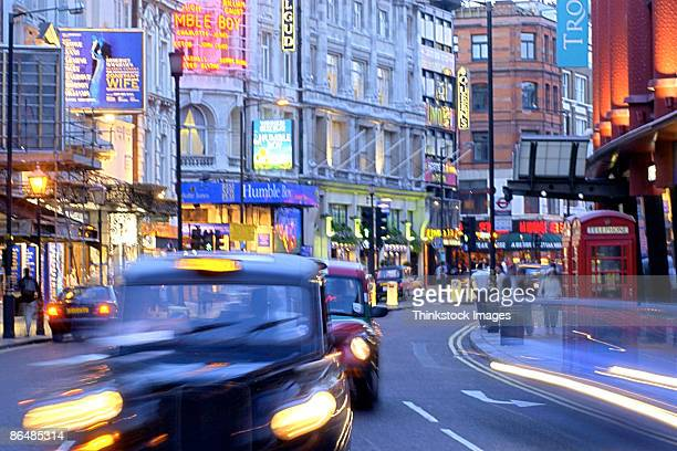 Shaftsbury Avenue, Theatre District, London, England