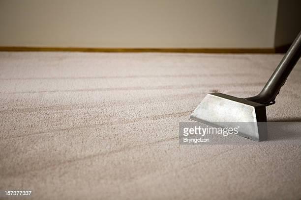 Tapete Felpudo com equipamento de limpeza de Carpete