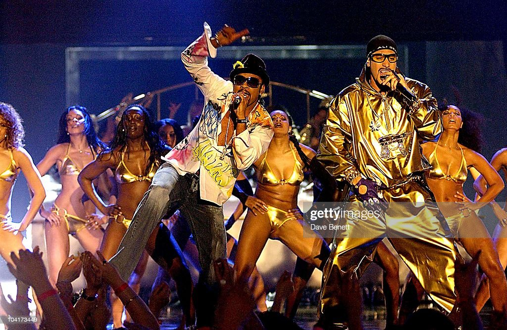 Shaggy & Ali G, The Brit Awards 2002 Held At Earl's Court In London.