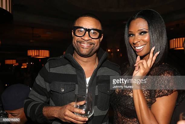 Shaggy and Jennifer Williams celebrate Jennifer Williams' birthday at Monarch on September 23 2014 in New York City