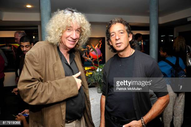 Shaggy and Keith Goldberg attend Opening Reception for MARK DeMAIO's 'Absurd Notions' at Synchronicity Space on September 8th 2010 in New York City