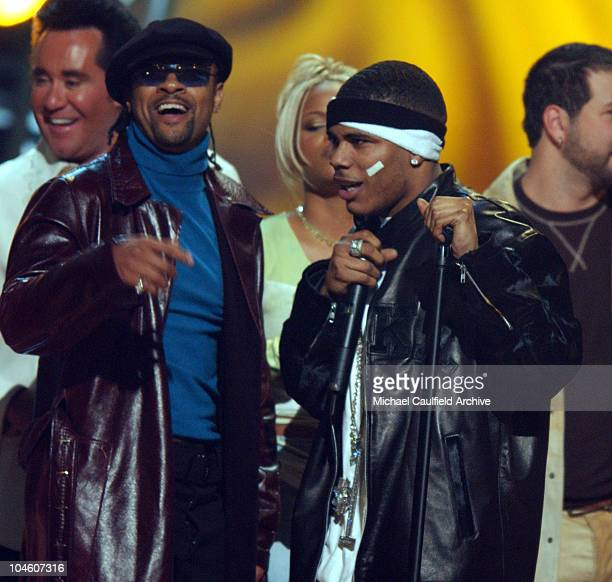 Shaggy and Nelly sing a remake of Marvin Gaye's 'Whats Going On' as the finale of the 2001 Billboard Awards at the MGM Grand Hotel in Las Vegas