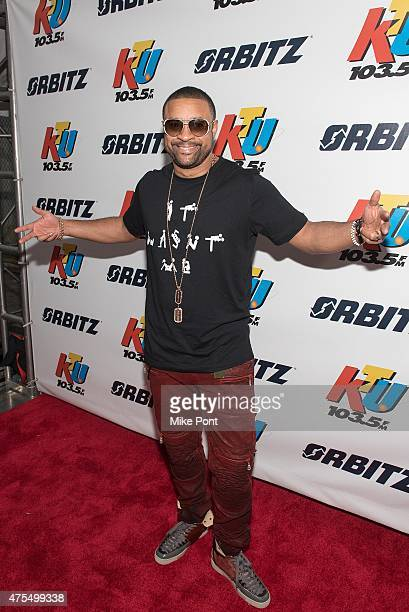 Shaggy arrives at KTU's KTUphoria 2015 at the Nikon at Jones Beach Theater on May 31 2015 in Wantagh New York